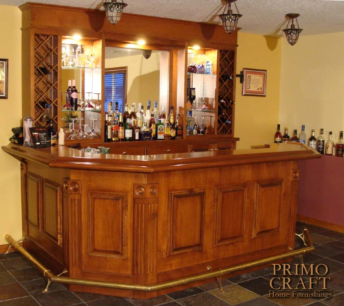 Build your own bar billiards and barstools gallery pool tables and home theater seating in - Residential bars ...
