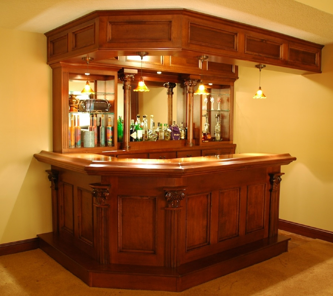 Build your own bar billiards and barstools gallery for How to build a commercial bar top