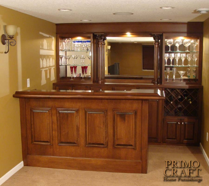 Build your own bar billiards and barstools gallery for Wooden bar design
