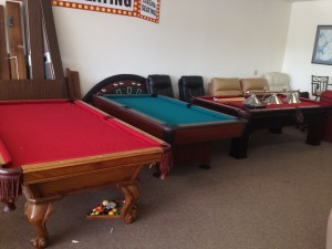 Used Pool Table Clearance From Billiards And Barstools - Clearance needed for pool table