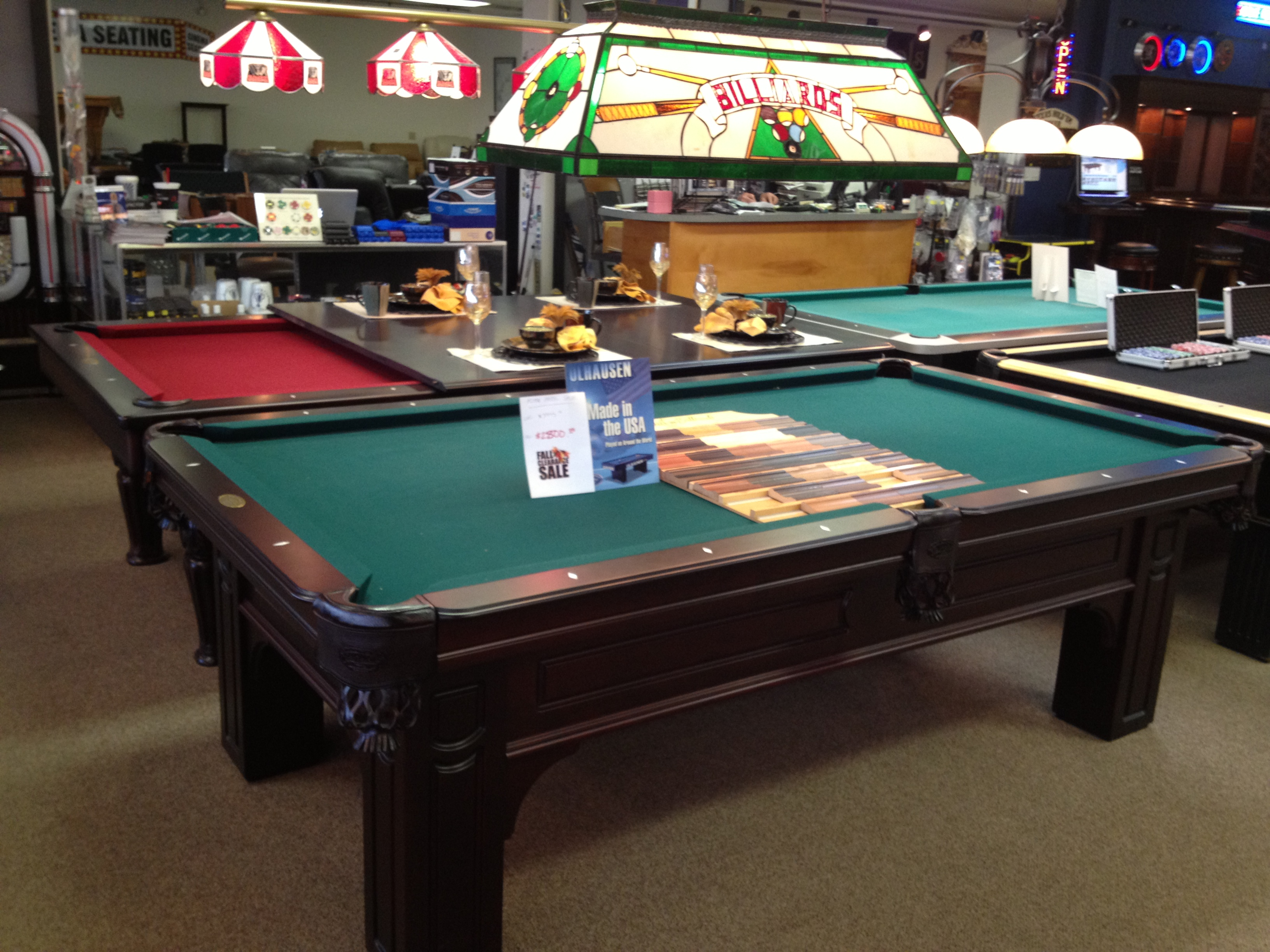 island products table all in spa staten vision page walnut olhausen tables pool
