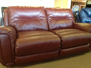Extra Large COMFORTABLE loveseat that individually recline! Retail Price: $1395 on sale 60% off at $559 for BOTH!