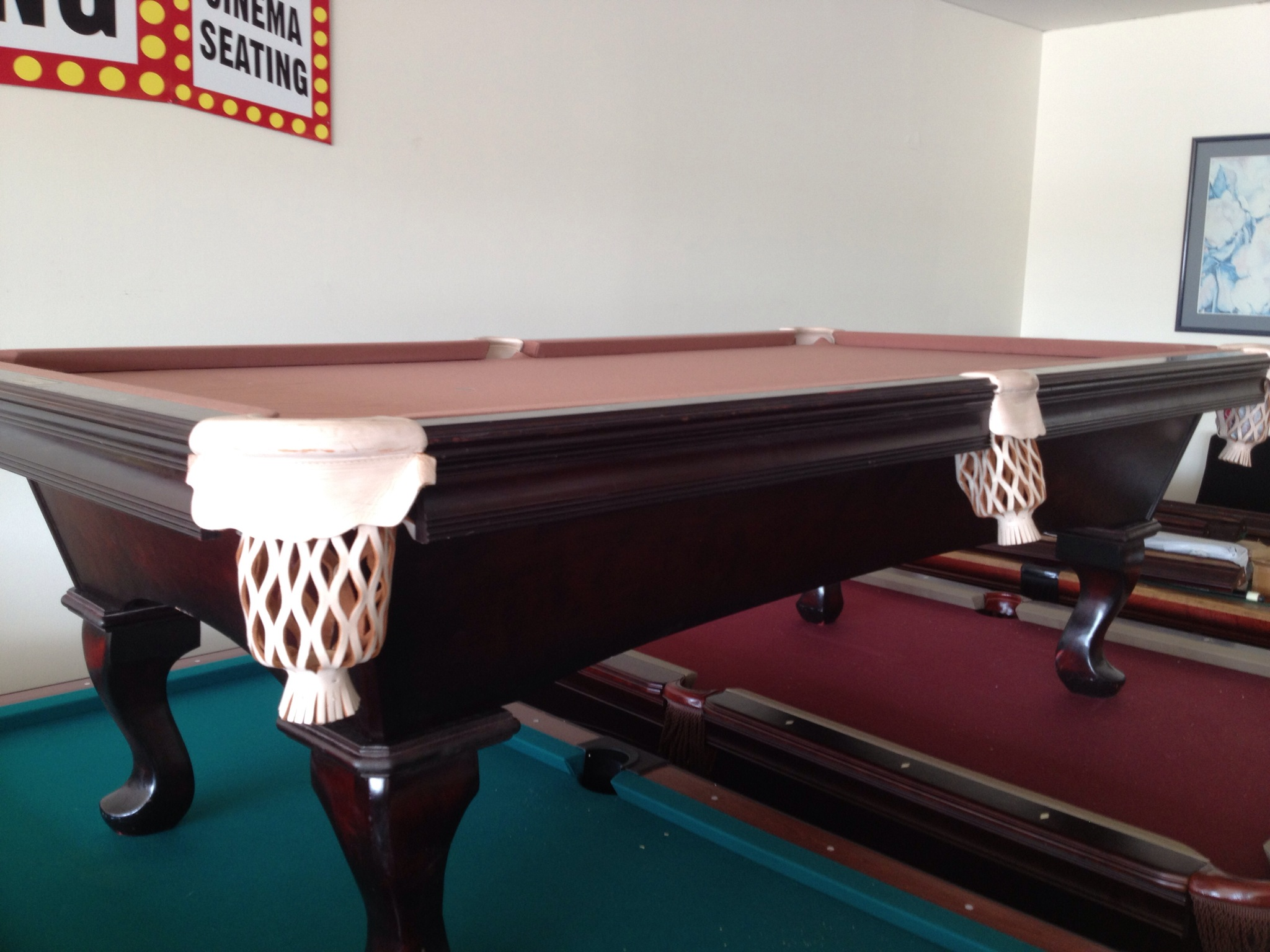 shop pool table santa tables now olhausen ana htm p