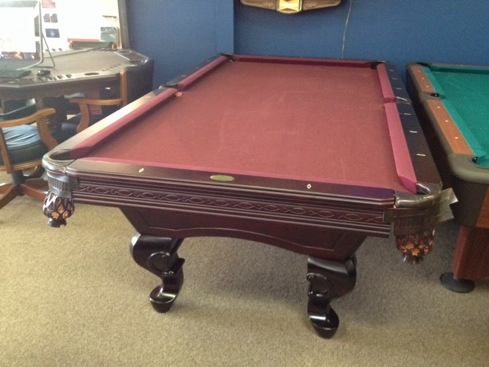 Sold Used Liberty Pool Table 1695 Billiards And