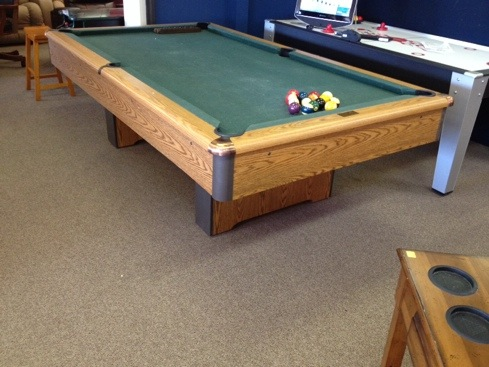 Used AMF Playmaster Pool Table Billiards And Barstools - Amf pool table models