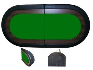 Oval Poker Red Table Top   8 Players $119.95. Oval ...