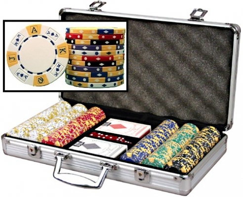 300 Poker 11.5 Gram Chip Set