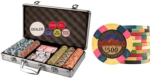 Pyramids Casino Poker Chip Set 300 - Huntsville, AL