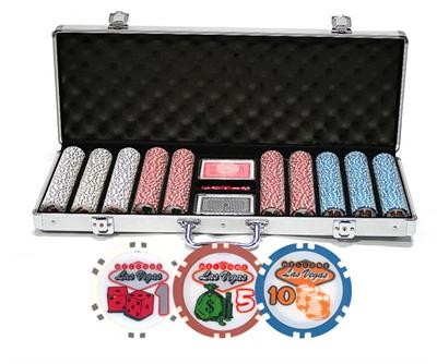 9 gram Las Vegas Poker Chip Set - Huntsville Alabama