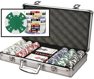 300 Chip Set 11.5 Huntsville AL Poker Chips