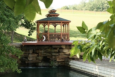 Monticello Gazebo Treated Wood - Huntsville, AL