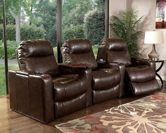 Ballard Home Theater Seating 8023