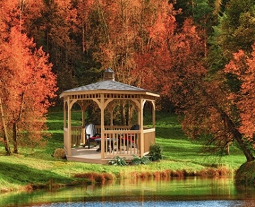 Treated Wood Gazebo Huntsville AL