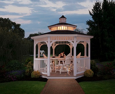 Lighted Gazebo Huntsville, AL