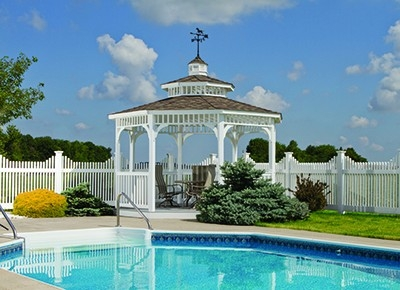 Swimming Pool Gazebo Huntsville AL
