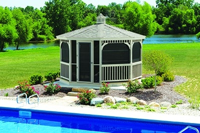 Screened in Gazebo Huntsville AL