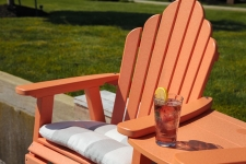 Amish made Poly Outdoor furniture from Berlin Gardens in