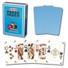 Modiano Light Blue Poker Cards