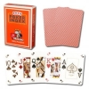 Modiano Orange Poker Cards