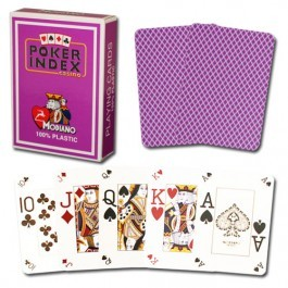 Modiano Purple Poker Cards