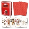 Modiano Red Poker Cards