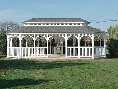 Large Rectangle Gazebo Huntsville, AL