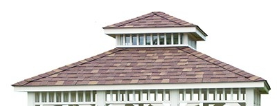 Gazebo Roof Options Huntsville