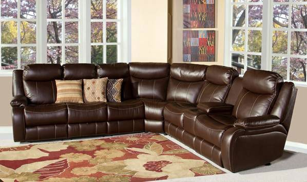 Genesis Home Entertainment Sectional RO8055